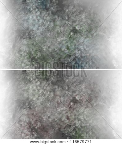 Abstract Digital Oil Painting Background