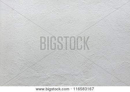 White stucco wall. Background texture.