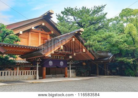 Atsuta - jingu (Atsuta Shrine) in Nagoya Japan