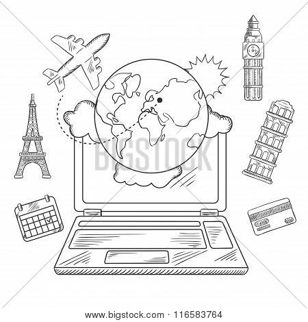 Online travel and booking service design