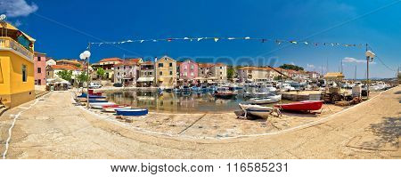Mediterranean Village Of Sali Panoramic Waterfront