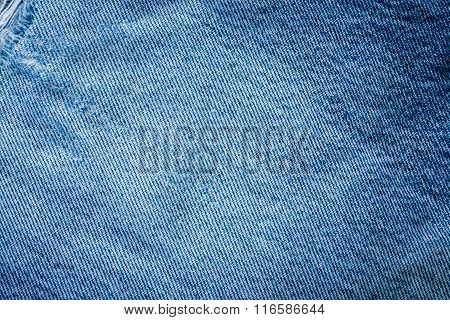 Jeans Fabric Texture Backgroun