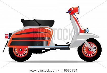 60S Scooter Motorbike