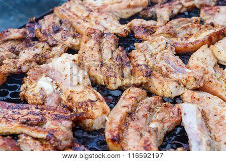 Kabob Pork Grill