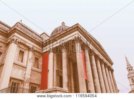 National Gallery London Vintage