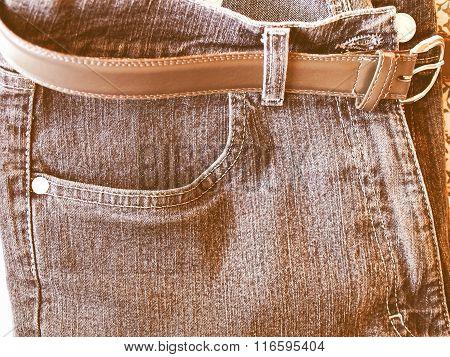 Blue Jeans Vintage