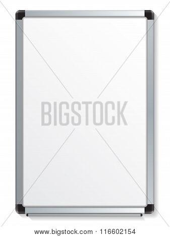 Empty White Marker Board