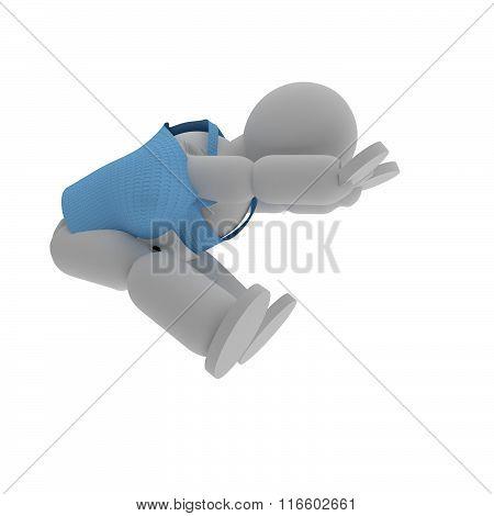 Long Jumper Puppet
