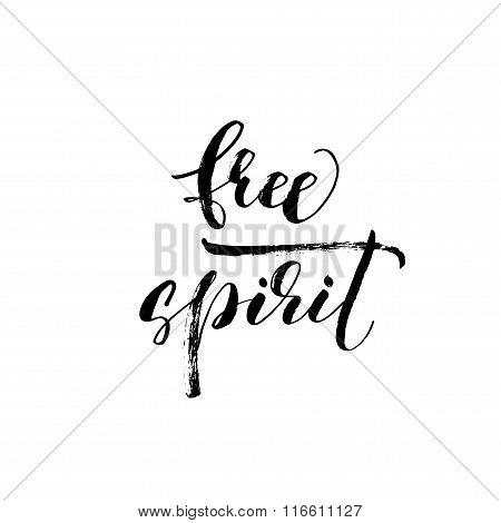 Free Spirit Phrase.