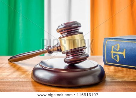 A Gavel And A Law Book - Ireland