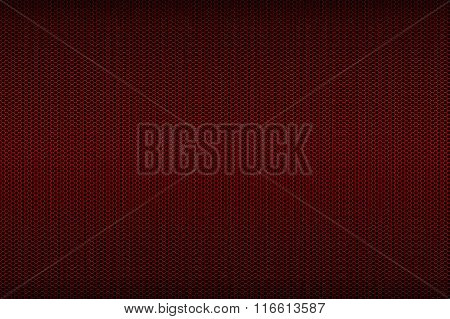 Black And Red Metallic Mesh Background Texture