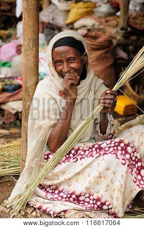 Ethnic  Woman From Ethiopia