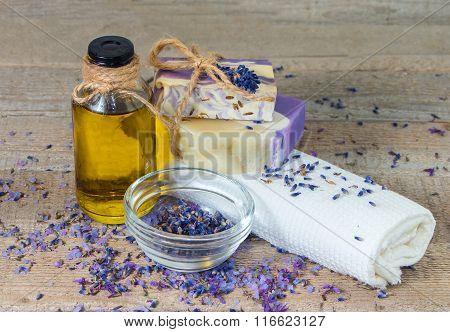 Aroma Oil, Lavender Flowers, Handmade Soap