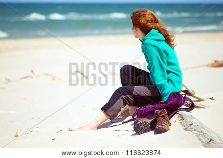 Girl Hiker