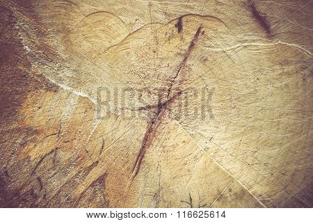 Log Surface Texture Background