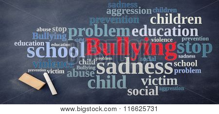 Blackboard Relating To Bullying.