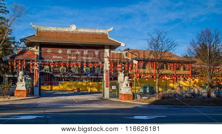Cham Shan Temple in Toronto