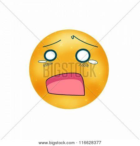 sad face
