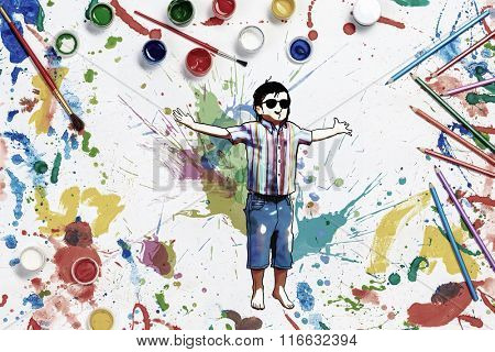 Painting as imagination development