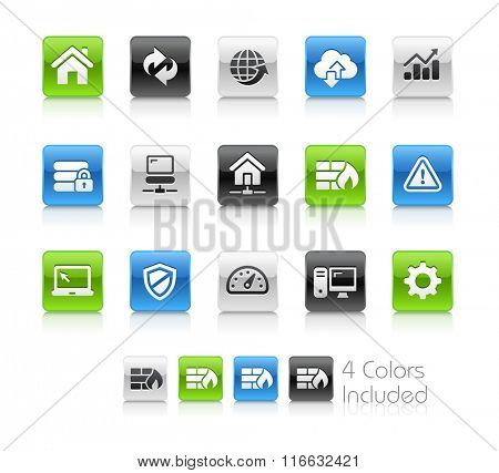 Web Developer Icons / The file Includes 4 color versions in different layers.