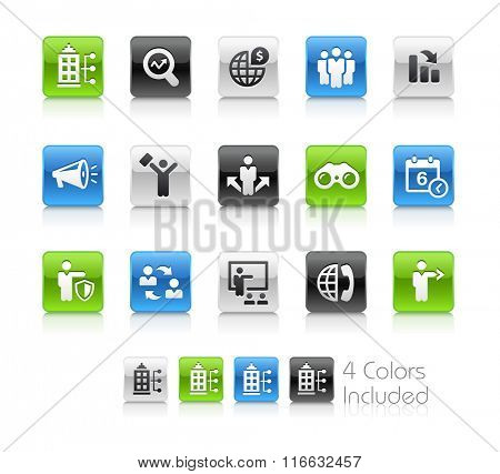 Business Opportunities / The file Includes 4 color versions in different layers.