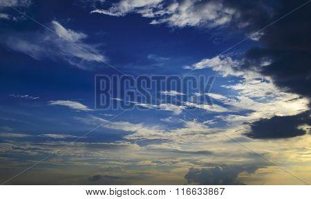 impressive dark sky - cloudy sky photo texture