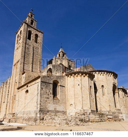 Romanesque Abbey Of Sant Cugat, Barcelona