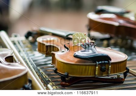 Detail Of Violins