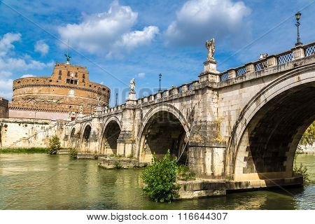 Castel Sant Angelo In Rome