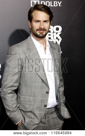 Mark Boal at the Los Angeles Premiere of
