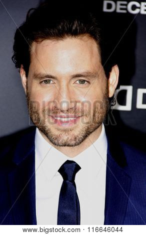 Edgar Ramirez at the Los Angeles premiere of