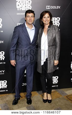 Kyle Chandler and Kathryn Chandler at the Los Angeles Premiere of