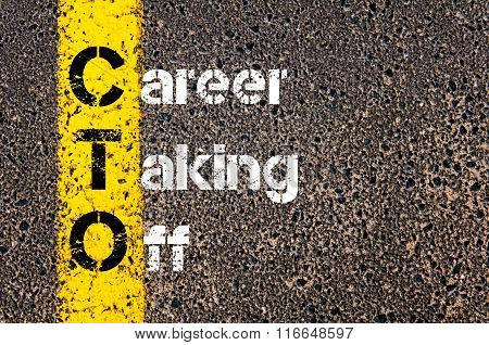 Business Acronym Cto Career Taking Off