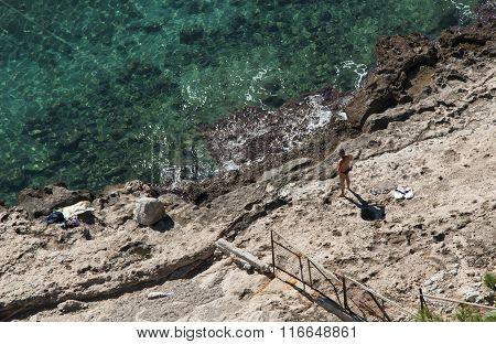 Nafplio beach