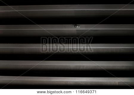 Black Galvanized Iron Texture