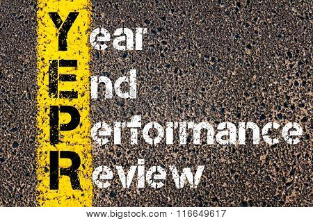 Business Acronym Yepr Year End Performance Review
