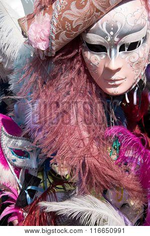 Masks for sale at Venice Carnival