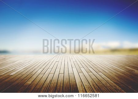 Hardwood Floor Timber Outdoor Plank Lumber Concept