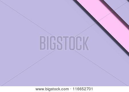 Pink And Aqua Painted Wall