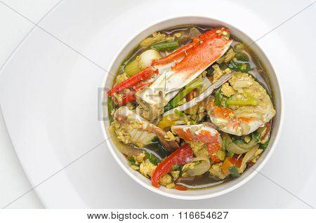 Spicy Thai Crab Salad
