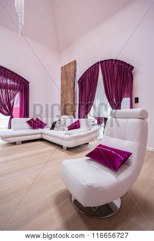 Elegant Luxury Living Room