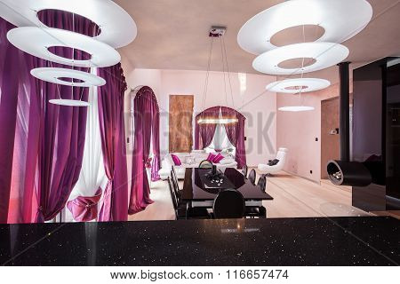 Interior Of Luxury Residence