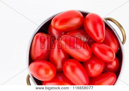 Ripe Red Grape Tomatoes