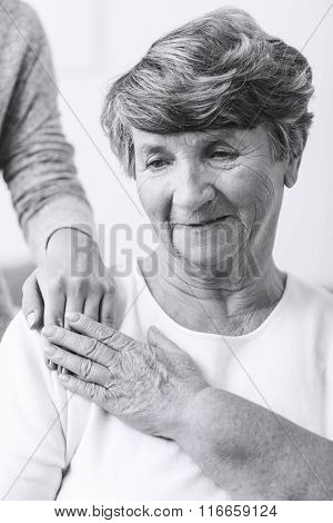 Senior Woman With Schizophrenia