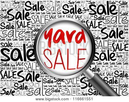 Yard Sale Word Cloud