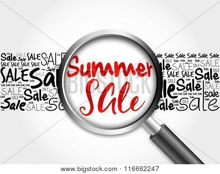 Summer Sale Word Cloud