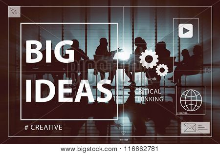 Big Ideas Creativity Design Thought Vision Concept