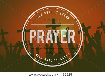 Pray Praying Faith Religion Spiritual Worship Believe Concept