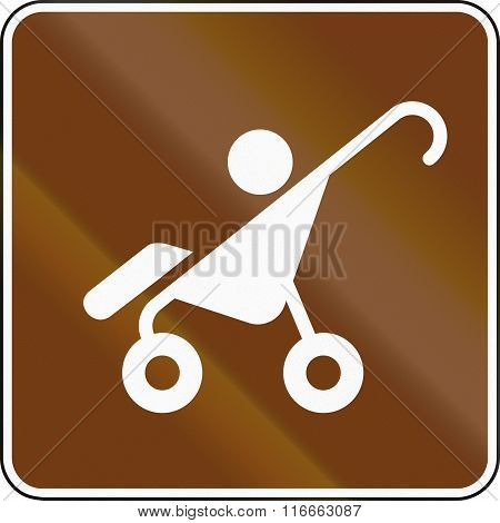 United States Mutcd Guide Road Sign - Strollers