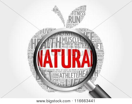Natural Apple Word Cloud